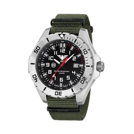 KHS Tactical Watches Landleader Steel mit Natoband Olive