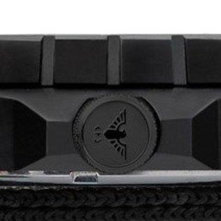 KHS Tactical Watches KHS Einsatzuhr Landleader Black Steel mit Natoband Oliv