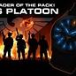 KHS Tactical Watches Black Platoon H3 Titan Einsatzuhr - Natoband Black