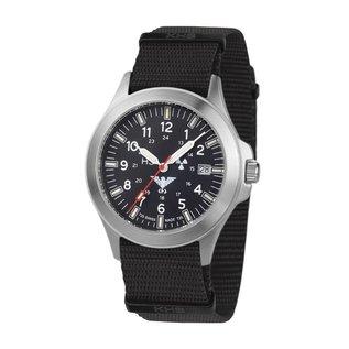 KHS Tactical Watches KHS Platoon Titanium Automatic Watch - Nato Strap KHS.PTA.NB
