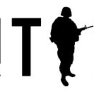 KHS Tactical Watches Sentinel AC, Chronograph Black | Natoband Black