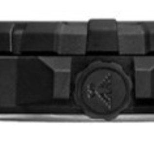 KHS Tactical Watches Militäruhr Reaper Natoband Black | RED HALO H3 Leuchtsystem