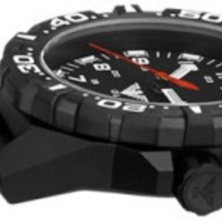 KHS Tactical Watches Reaper Silikonband Black | RED HALO H3 Leuchtsystem