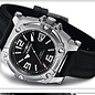 Firefox Watches  Men's Automatic Watch Black-Silver Calibre 8205