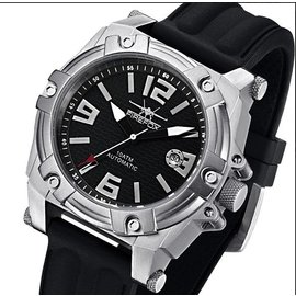 Firefox Watches  Men's Automatic Watch Black-Silver