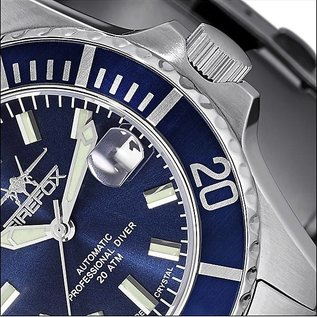 Firefox Watches  Automatic Watch Calibre Seiko NH35 Blue Dial 200 Metres