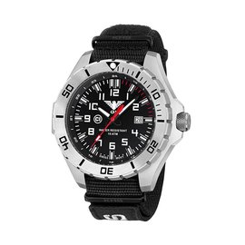 KHS Tactical Watches KHS Tactical Watches Landleader Steel XTAC Black KHS.LANS.NXT7
