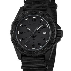 KHS Tactical Watches Military Watch Reaper XTAC Black Nato Bracelet