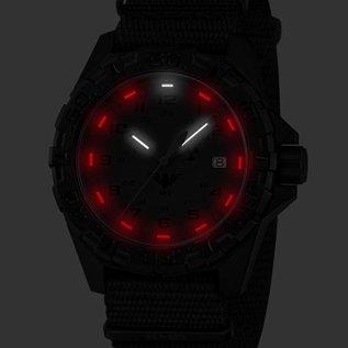 KHS Tactical Watches KHS Tactical Watches KHS Reaper XTAC mit Natoband Schwarz HALO H3 Leuchtsystem