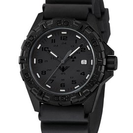 KHS Tactical Watches KHS Reaper XTAC mit Taucherband Schwarz | KHS.REXT.DB