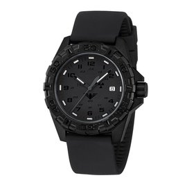 KHS Tactical Watches KHS Reaper XTAC mit schwarzen Silikonband