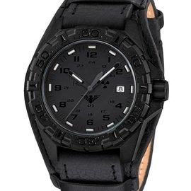 KHS Tactical Watches KHS Reaper XTAC mit schwarzen Lederband G-Pad KHS.REXT.R