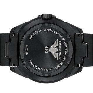 KHS Tactical Watches Einsatzuhr Enforcer Black Steel MK3 | Natoarmband Black