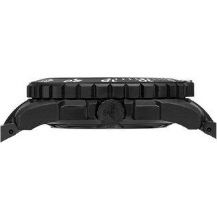 KHS Tactical Watches Einsatzuhr Enforcer Black Steel MK3 | Diver Band Black