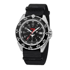 KHS Tactical Watches KHS Enforcer Steel MK3 | Natoband Black