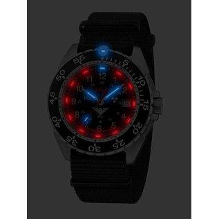 KHS Tactical Watches KHSTactical Watches Enforcer Steel MK3   Natoband Black