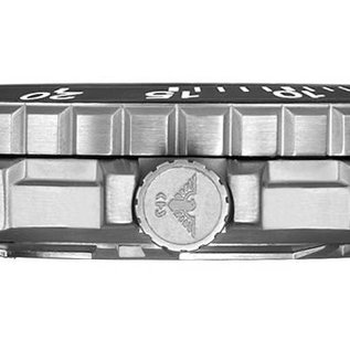 KHS Tactical Watches KHS Tactical Watches Enforcer Steel | Military Bracelet Black