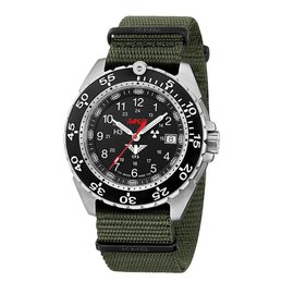 KHS Tactical Watches KHS Enforcer Steel MK3 | Natoband Oliv