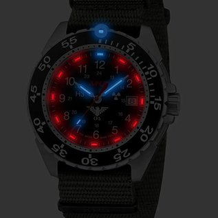 KHS Tactical Watches KHSTactical Watches Enforcer Steel MK3 | Natoband Oliv