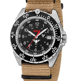 KHS Tactical Watches KHS Enforcer Steel MK3 | Natoband Tan