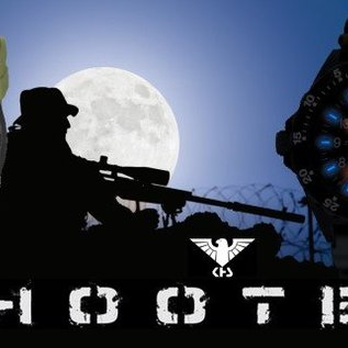 KHS Tactical Watches Militäruhr KHS Shooter mit Natoarmbandband Tan