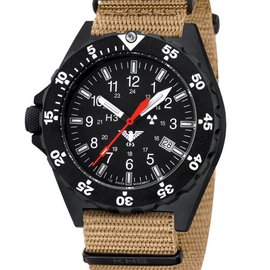 KHS Tactical Watches Shooter Nato Strap TAN