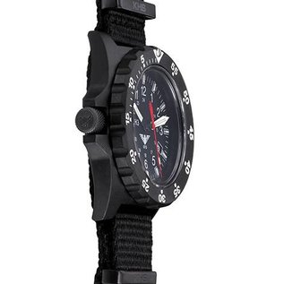KHS Tactical Watches KHS Tactical Gear Shooter H3 Einsatzuhr Militäruhr mit Diverband Oliv