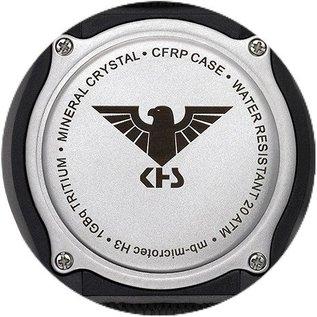 KHS Tactical Watches KHS Shooter GMT Natoarmband Oliv | KHS.SH.NO