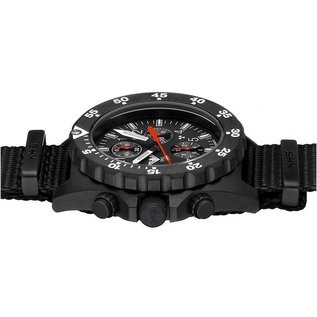 KHS Tactical Watches KHS Shooter Chronograph mit Natoarmband Black   KHS.SHC.NB
