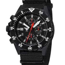 KHS Tactical Watches KHS Shooter H3 Chronograph | NATO Strap Black