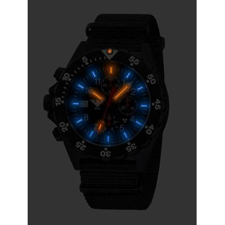 KHS Tactical Watches KHS Shooter Chronograph mit Natoarmband Oliv | KHS.SHC.NO