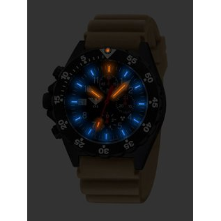 KHS Tactical Watches KHS Tactical Watches Shooter H3 Chronograph   NATO Strap black - Copy