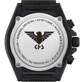 KHS Tactical Watches KHS Tactical Watches Shooter H3 Chronograph | NATO Strap black - Copy - Copy
