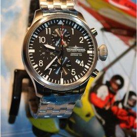Thunderbirds Thunderbirds Aircraft Historia 1956 Chronograph Pilot Watch