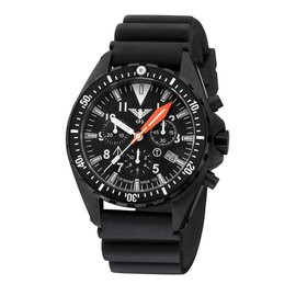 KHS Tactical Watches Missiontimer 3  Operation Timer  Chronograph | Diver Black