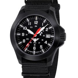 KHS Tactical Watches KHS Black Platoon LDR | Nato strap black
