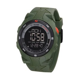 KHS Tactical Watches Sentinel DC Green Silikon Strap