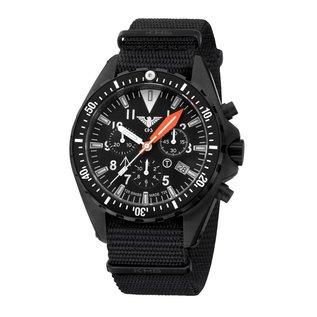 KHS Tactical Watches Missiontimer 3  OCEAN  Chronograph mit schwarzen Natoband | KHS.MTAOC.NB