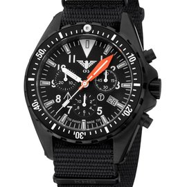 KHS Tactical Watches Missiontimer 3 Operation Timer Chronograph | Nato strap KHS.MTAOT.NB