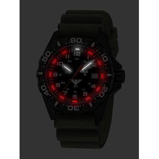 KHS Tactical Watches Tactical Watches | Reaper diver band tan | RED HALO H3 lighting system  - Copy