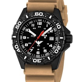 KHS Tactical Watches Reaper  Diverband Tan  | KHS.RE.DT