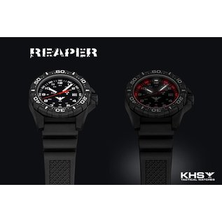 KHS Tactical Watches KHS Einsatzuhr Reaper Natoband Tan| RED HALO Tritium Leuchtsystem