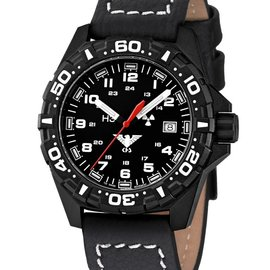 KHS Tactical Watches Reaper | Büffelleder Schwarz