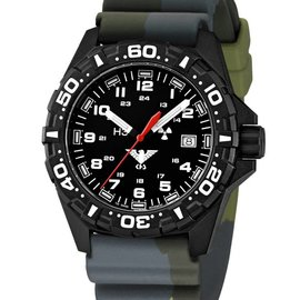 KHS Tactical Watches Reaper  Diverband  Camouflage Olive KHS.RE.DC3