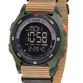 KHS Tactical Watches Sentinel DC Olive Nato Strap TAN