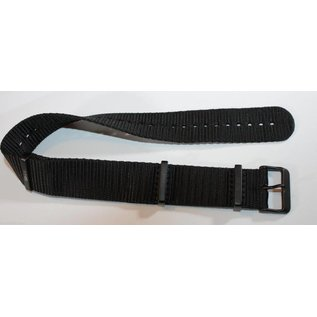 KHS Tactical Watches KHS Nato watch strap black | black IP coated | KHS bands