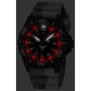 KHS Tactical Watches Tactical Watches   Reaper diver band camouflage olive   RED HALO H3 lighting system  - Copy