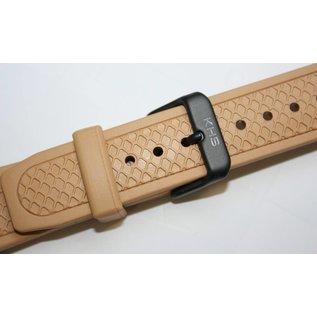 KHS Tactical Watches Original KHS Taucherband   Ersatzband   KHS Bänder    Tan / Beige