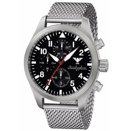 KHS Tactical Watches Airleader Steel Chronograph