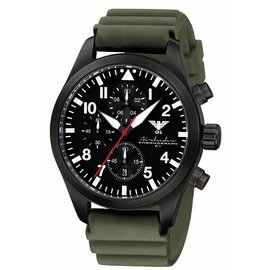KHS Tactical Watches German Airleader Chronograph